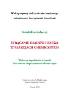 Strącanie osadów i barwa w reakcjach chemicznych