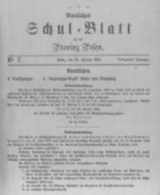 Amtliches Schul-Blatt für die Provinz Posen 1884.02.16 R.17 nr2