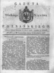 Gazeta Wielkiego Xięstwa Poznańskiego 1837.12.07 Nr287