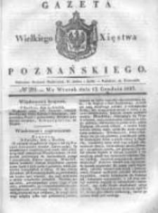 Gazeta Wielkiego Xięstwa Poznańskiego 1837.12.12 Nr291