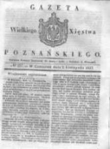 Gazeta Wielkiego Xięstwa Poznańskiego 1837.11.02 Nr257