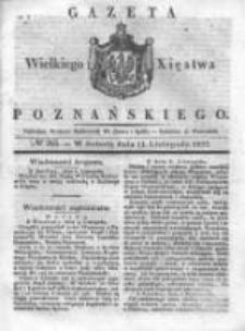 Gazeta Wielkiego Xięstwa Poznańskiego 1837.11.11 Nr265