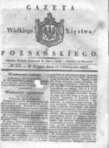 Gazeta Wielkiego Xięstwa Poznańskiego 1837.11.17 Nr270