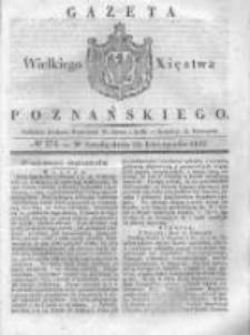 Gazeta Wielkiego Xięstwa Poznańskiego 1837.11.22 Nr274