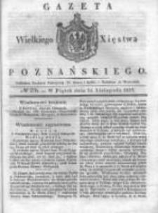 Gazeta Wielkiego Xięstwa Poznańskiego 1837.11.24 Nr276