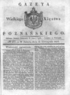 Gazeta Wielkiego Xięstwa Poznańskiego 1837.11.25 Nr277