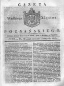 Gazeta Wielkiego Xięstwa Poznańskiego 1837.11.28 Nr279