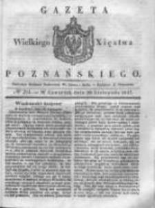 Gazeta Wielkiego Xięstwa Poznańskiego 1837.11.30 Nr281