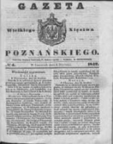 Gazeta Wielkiego Xięstwa Poznańskiego 1842.01.06 Nr4