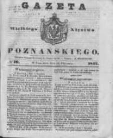 Gazeta Wielkiego Xięstwa Poznańskiego 1842.01.13 Nr10