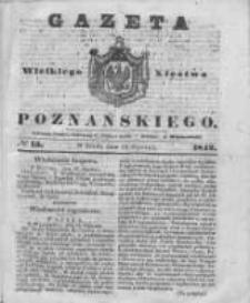 Gazeta Wielkiego Xięstwa Poznańskiego 1842.01.19 Nr15