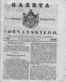 Gazeta Wielkiego Xięstwa Poznańskiego 1842.01.21 Nr17
