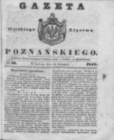 Gazeta Wielkiego Xięstwa Poznańskiego 1842.01.22 Nr18