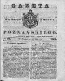 Gazeta Wielkiego Xięstwa Poznańskiego 1842.01.25 Nr20