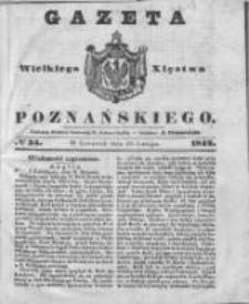 Gazeta Wielkiego Xięstwa Poznańskiego 1842.02.10 Nr34