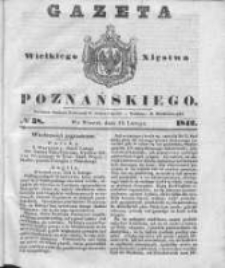 Gazeta Wielkiego Xięstwa Poznańskiego 1842.02.15 Nr38