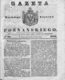 Gazeta Wielkiego Xięstwa Poznańskiego 1842.02.17 Nr40
