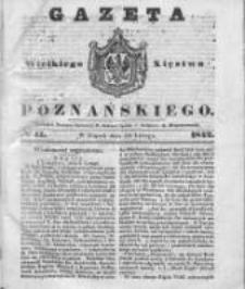 Gazeta Wielkiego Xięstwa Poznańskiego 1842.02.18 Nr41