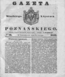 Gazeta Wielkiego Xięstwa Poznańskiego 1842.02.21 Nr43