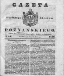 Gazeta Wielkiego Xięstwa Poznańskiego 1842.02.22 Nr44
