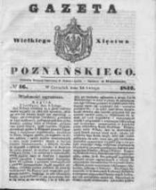 Gazeta Wielkiego Xięstwa Poznańskiego 1842.02.24 Nr46
