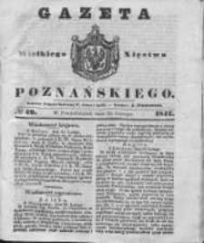Gazeta Wielkiego Xięstwa Poznańskiego 1842.02.28 Nr49
