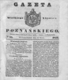 Gazeta Wielkiego Xięstwa Poznańskiego 1842.03.14 Nr61