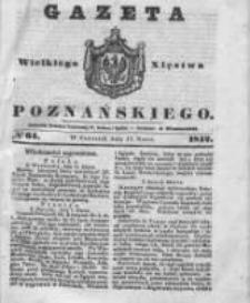 Gazeta Wielkiego Xięstwa Poznańskiego 1842.03.17 Nr64