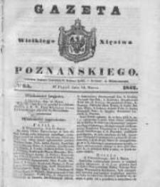 Gazeta Wielkiego Xięstwa Poznańskiego 1842.03.18 Nr65