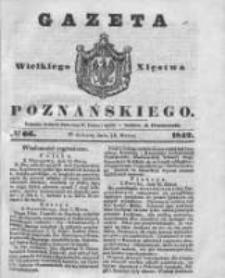 Gazeta Wielkiego Xięstwa Poznańskiego 1842.03.19 Nr66