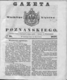 Gazeta Wielkiego Xięstwa Poznańskiego 1842.04.02 Nr76