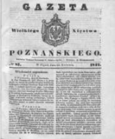 Gazeta Wielkiego Xięstwa Poznańskiego 1842.04.15 Nr87