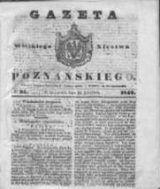 Gazeta Wielkiego Xięstwa Poznańskiego 1842.04.21 Nr91