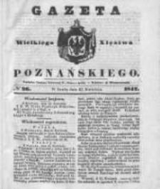 Gazeta Wielkiego Xięstwa Poznańskiego 1842.04.27 Nr96