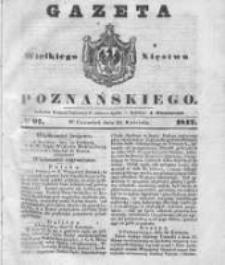 Gazeta Wielkiego Xięstwa Poznańskiego 1842.04.28 Nr97