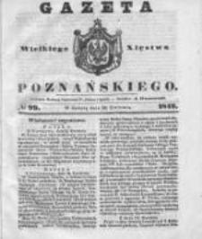 Gazeta Wielkiego Xięstwa Poznańskiego 1842.04.30 Nr99