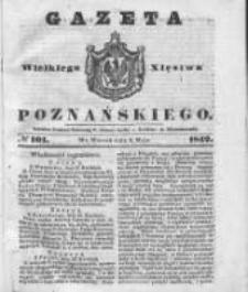 Gazeta Wielkiego Xięstwa Poznańskiego 1842.05.03 Nr101