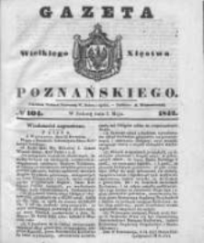 Gazeta Wielkiego Xięstwa Poznańskiego 1842.05.07 Nr104