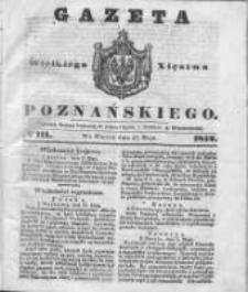 Gazeta Wielkiego Xięstwa Poznańskiego 1842.05.17 Nr111