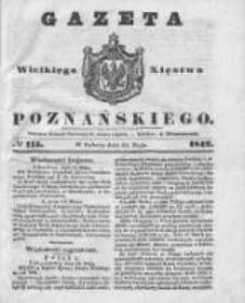 Gazeta Wielkiego Xięstwa Poznańskiego 1842.05.21 Nr115