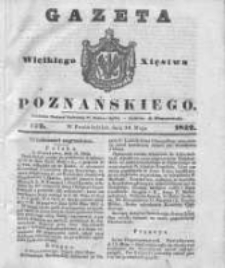 Gazeta Wielkiego Xięstwa Poznańskiego 1842.05.30 Nr122