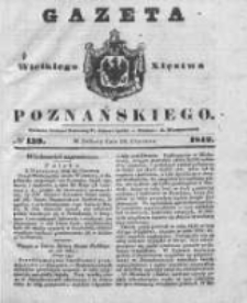 Gazeta Wielkiego Xięstwa Poznańskiego 1842.06.18 Nr139