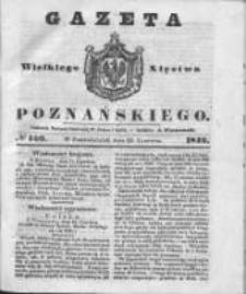 Gazeta Wielkiego Xięstwa Poznańskiego 1842.06.20 Nr140