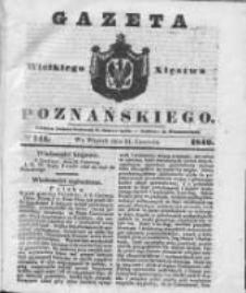 Gazeta Wielkiego Xięstwa Poznańskiego 1842.06.21 Nr141