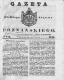 Gazeta Wielkiego Xięstwa Poznańskiego 1842.06.23 Nr143