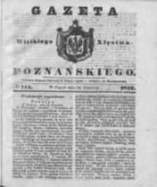 Gazeta Wielkiego Xięstwa Poznańskiego 1842.06.24 Nr144