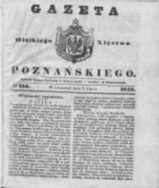 Gazeta Wielkiego Xięstwa Poznańskiego 1842.07.07 Nr155