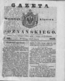Gazeta Wielkiego Xięstwa Poznańskiego 1842.07.09 Nr157