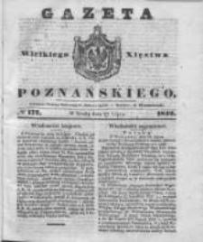 Gazeta Wielkiego Xięstwa Poznańskiego 1842.07.27 Nr172