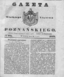 Gazeta Wielkiego Xięstwa Poznańskiego 1842.07.30 Nr175